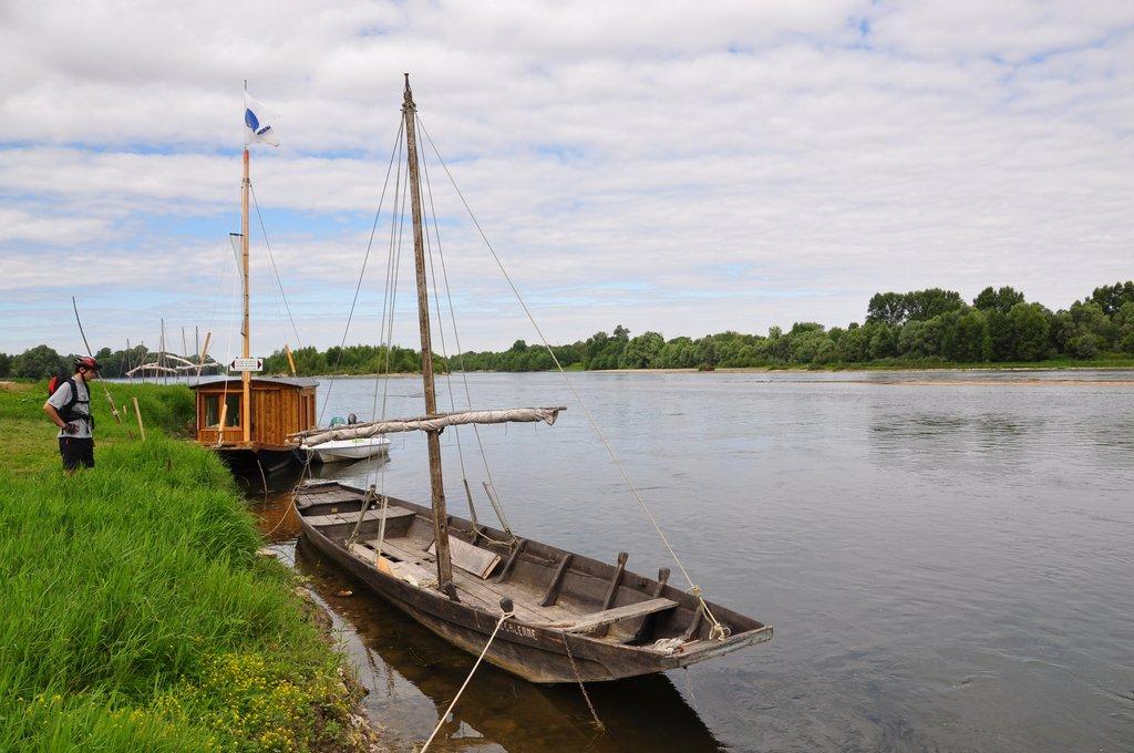 La Loire en vélo, ou en Bateau