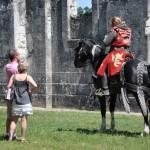 Un cavalier des écuries de Chambord