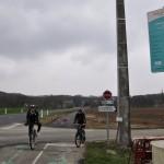La nouvelle piste cyclable qui rejoint Chailles