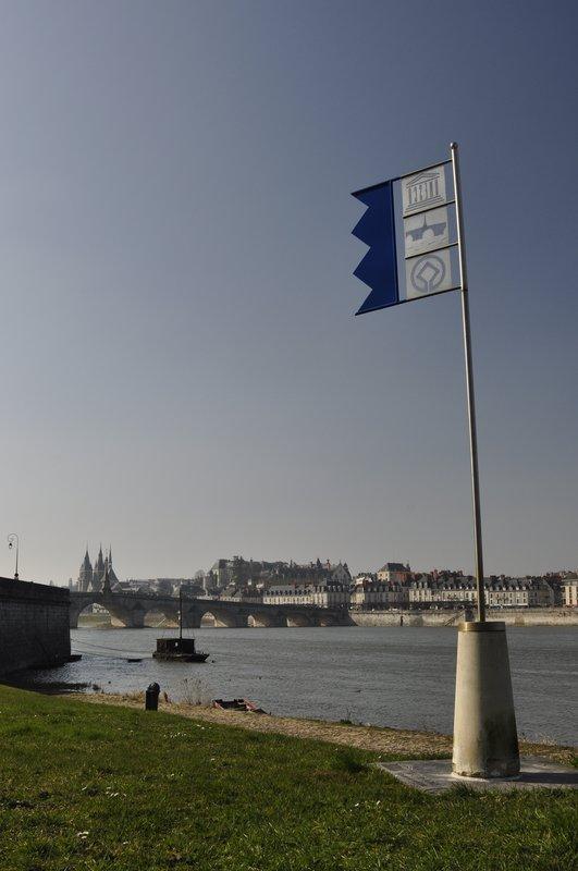 Sur la route de la Loire à vélo