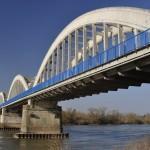 Le pont vu d'en bas