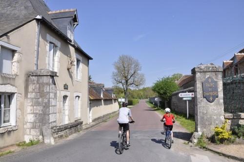 L'entrée Ouest du parc de Chambord