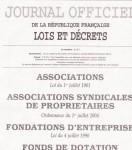 Les Chatmouettes sont publiés dans le journal officiel