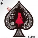 """Affiche """"Divines cartes à jouer"""", """"La nouvelle Alice"""", Maison de la magie de Blois"""