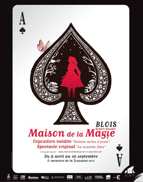 """Populaire La nouvelle Alice à la """"Maison de la magie"""" de Blois (41  LY29"""