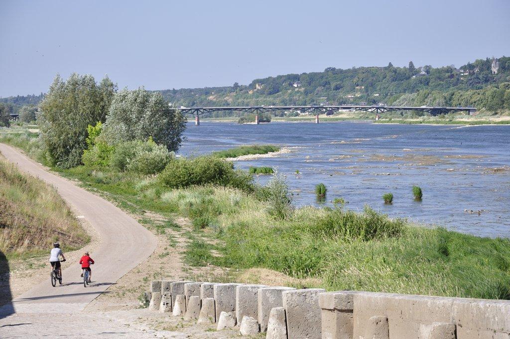 Les Chatmouettes empruntent la nouvelle piste cyclable à Blois