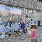 Fresque géante