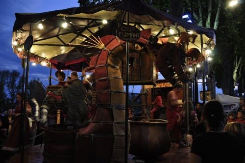 Festival de Loire 2011 : Manège pour enfants rêveurs