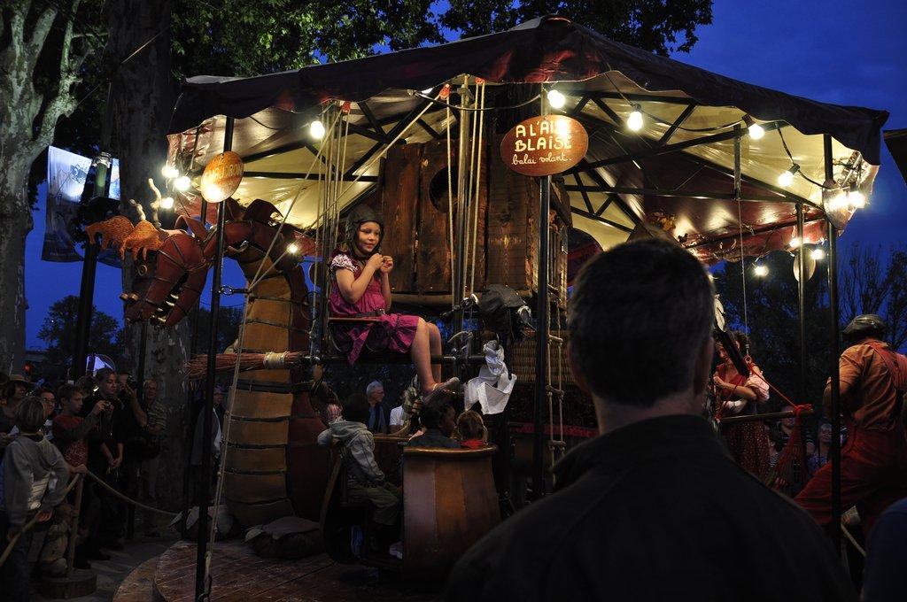 Festival de Loire 2011 : Manège pour enfants aventuriers