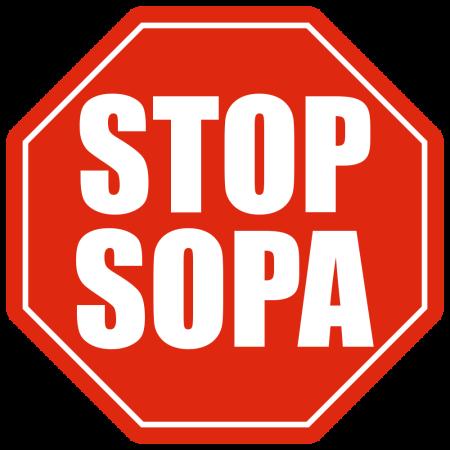 Badge Stop SOPA