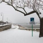 Neige à Blois février 2012