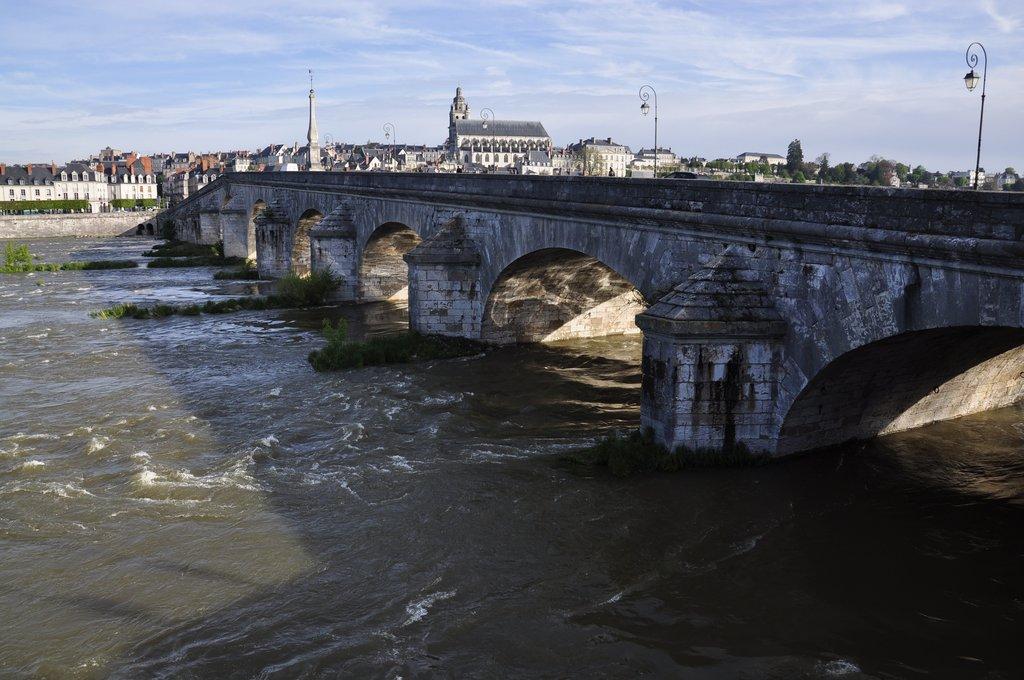 Pont Jacques Gabriel et cathédrale St Louis