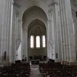 Intérieur de l'église collégiale de Candes-st-Martin