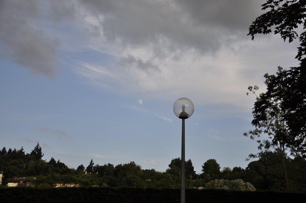 Eclipse de lampadaire