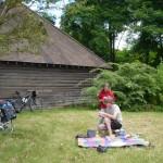 Déjeuner sur l'île du parc Honoré de Balzac