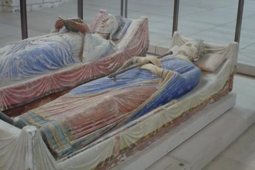 Nécropole des Plantagenêt : Henri II d'Angleterre et Aliénor d'Aquitaine
