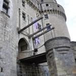 Le pont-levis du château de Langeais