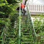 Chute fatale dans l'escalier de la mort