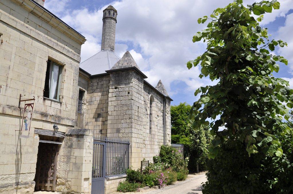 La lanterne des morts de Fontevraud-l'abbaye