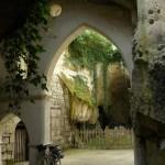 Intérieur du passage troglodyte de Souzay-champigny