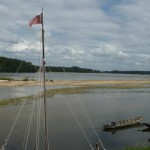 Bateaux sur la Loire à le Thoureil
