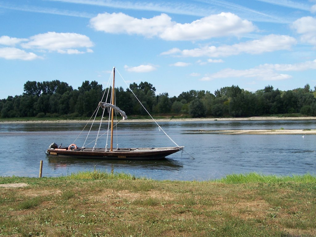 Toue sur Loire
