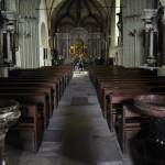 Intérieur de l'église st-Michel de Fontevraud-l'Abbaye