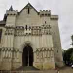 Façade de l'eglise de Candes-saint-Martin