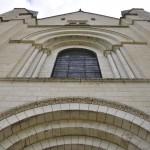 Façade de l'Abbaye de Fontevraud