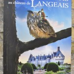 Affiche au château de Langeais