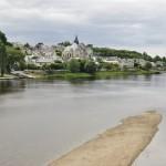 Arrivée à Candes-saint-Martin