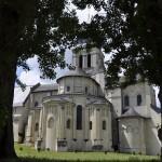 Le chevet de l'abbaye de Fontevraud