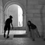 Minna le lapin fait sauter l'abbaye de fontevraud à la dynamite